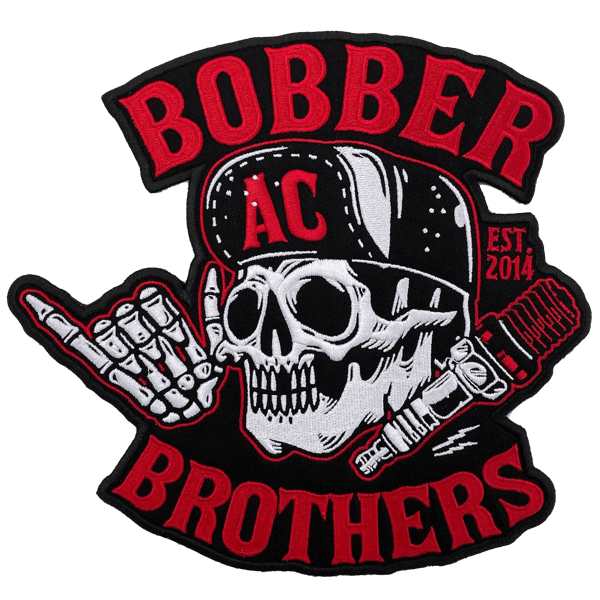 """Großes Patch """"Bobber Brothers Co."""""""