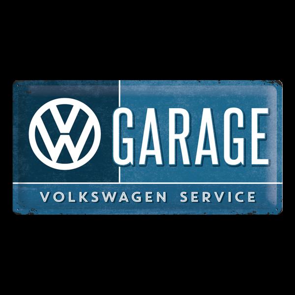 """Blechschild """"VW Garage"""" 25 x 50 cm"""