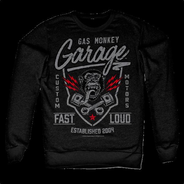 "Gas Monkey Garage Sweatshirt ""Fast 'N Loud"""