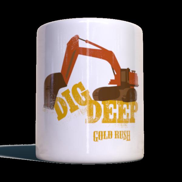 """Gold Rush Becher """"Dig Deep"""""""