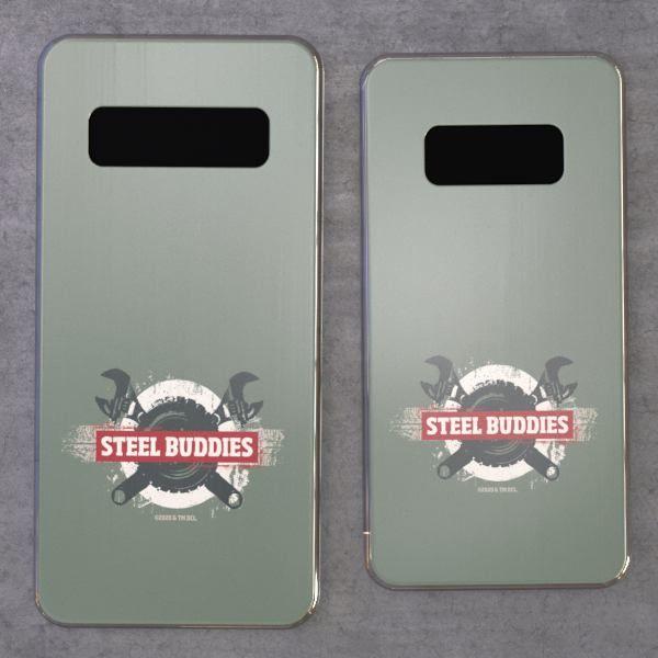 """Steel Buddies Cover """"Wheel für Samsung Galaxy S Modelle"""