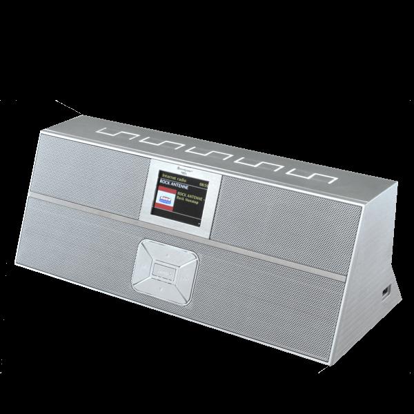 Sprachsteuerbares Internet/DAB+ Digitalradio mit Bluetooth