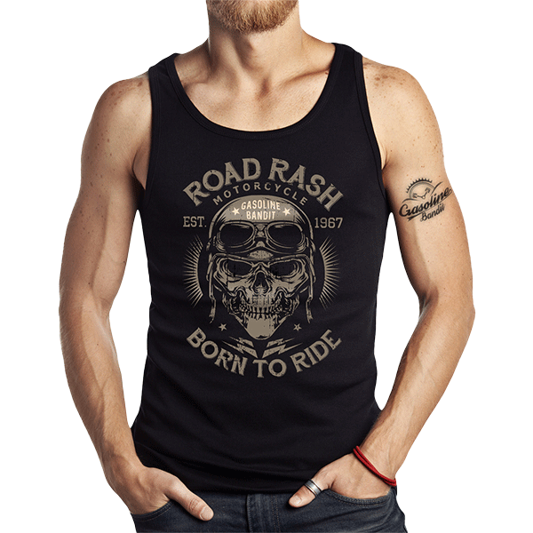 """Tank Top """"Road Rash"""" von Gasoline Bandit"""