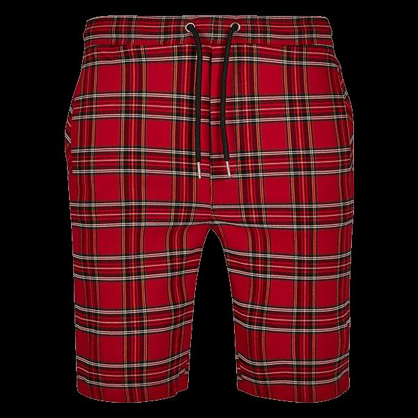 Checker Shorts von Urban Classics
