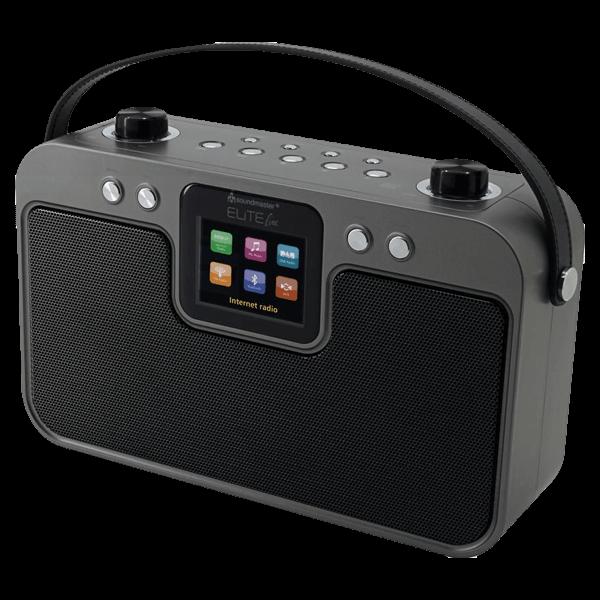 Tragbares WLAN-Musikcenter mit DAB+/UKW, Bluetooth und App-Steuerung