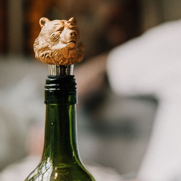 """Weinflaschenverschluss """"Bärenkopf"""""""