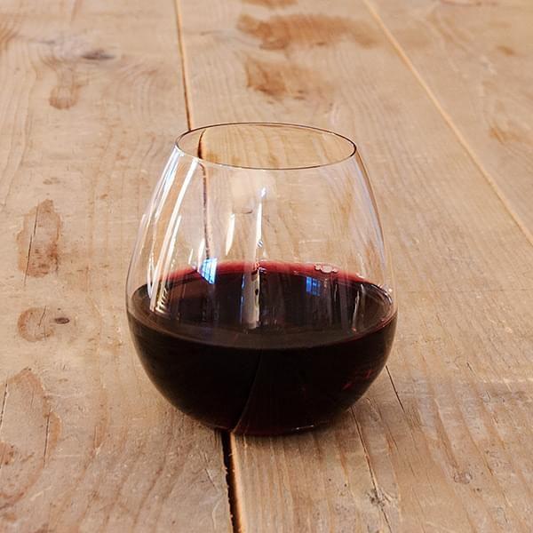 Weinglas ohne Stiel (Burgunderglas) 6-er Set