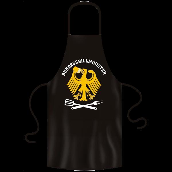 "Grill- und Kochschürze ""Bundesgrillminister"""