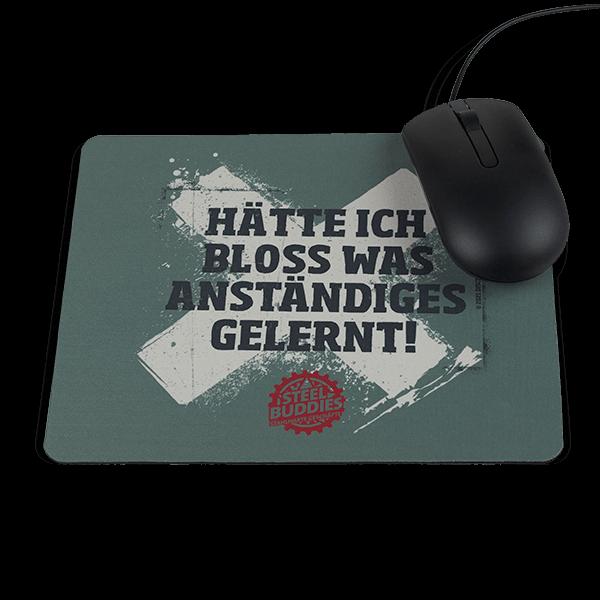 """Steel Buddies Mousepad """"Gelernt"""""""