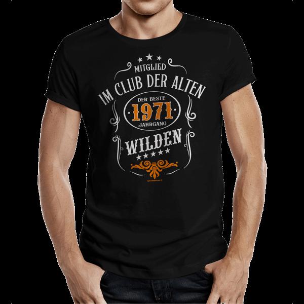 """T-Shirt """"Die alten Wilden 1971"""""""