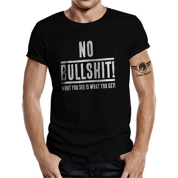 "T-Shirt ""No Bullshit"""