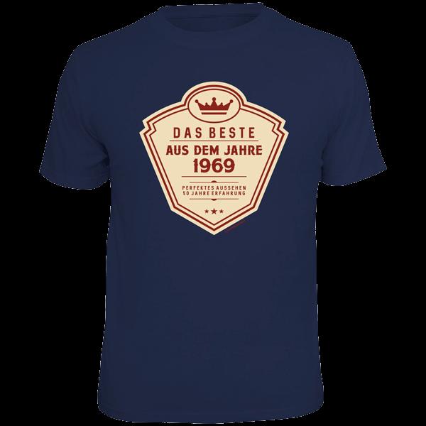"""T-Shirt """"Das Beste aus dem Jahre 1969"""""""