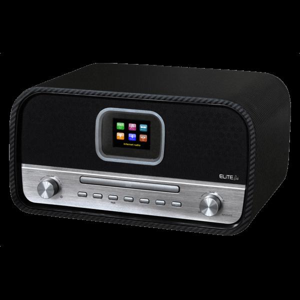 WLAN-Musikcenter mit DAB+/UKW, Bluetooth, CD und App-Steuerung