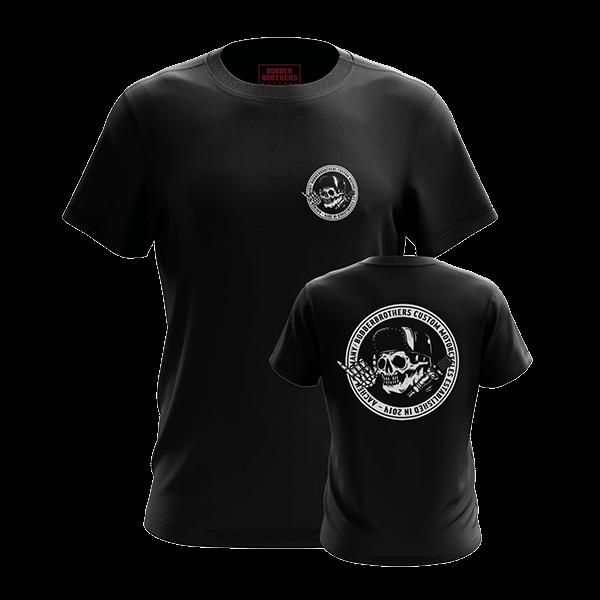 """T-Shirt """"Round Logo"""" von Bobber Brothers"""