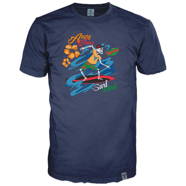 """T-Shirt """"Angry Wave"""""""