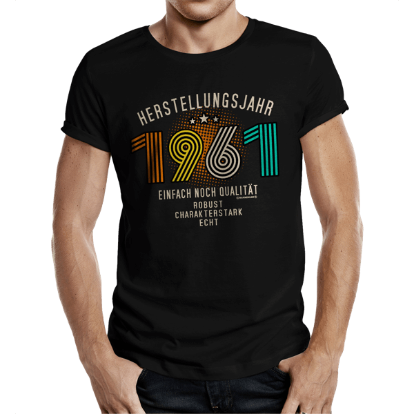 """T-Shirt """"Herstellungsjahr 1961"""""""