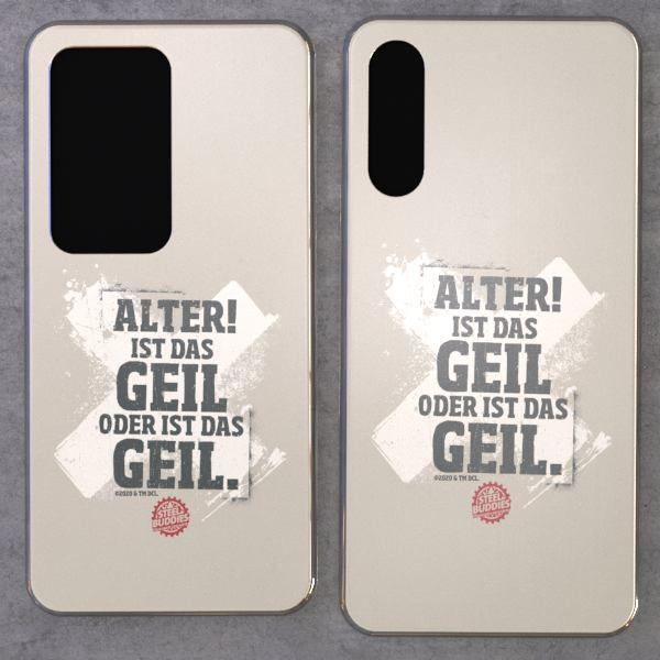 """Steel Buddies Cover """"Geil"""" für Huawei P Modelle"""