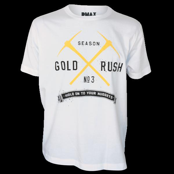 """Gold Rush T-Shirt """"No. 3"""""""