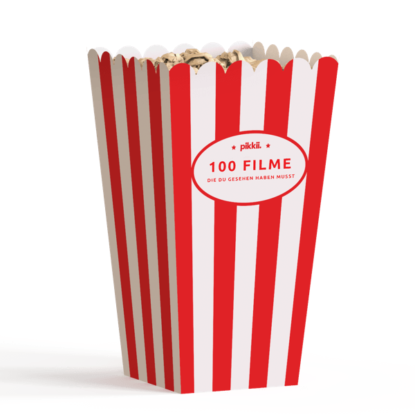 "Popcorn Bucket List ""100 Filme..."""