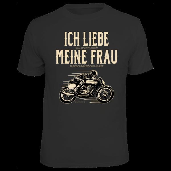 """T-Shirt """"Ich liebe meine Frau"""""""